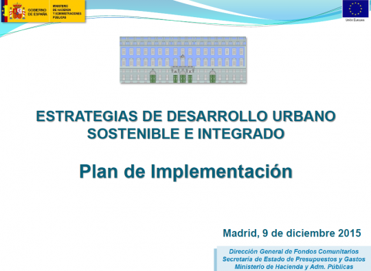 PLAN DE IMPLEMENTACION EDUSI